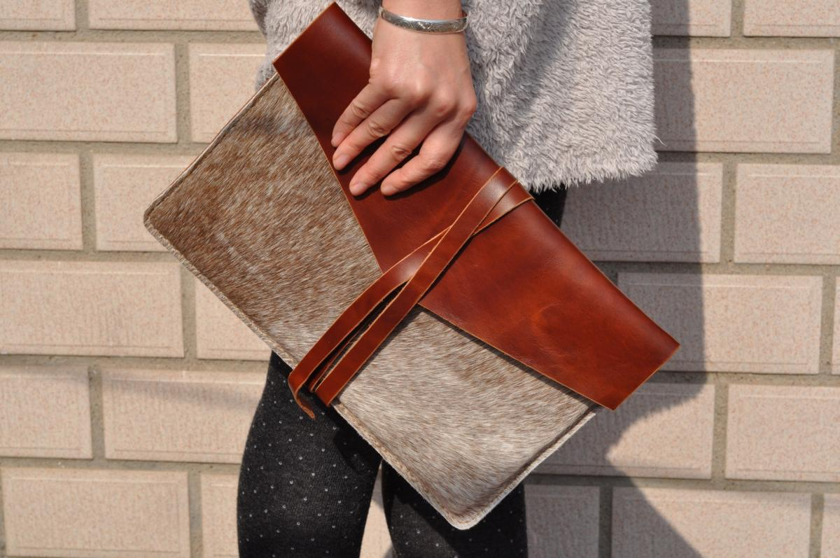 MacBook Air 11-inch Leather Laptop bag sleeve cover